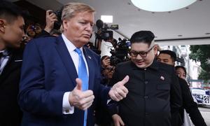 Các 'bản fake' của hai nhà lãnh đạo Mỹ - Triều