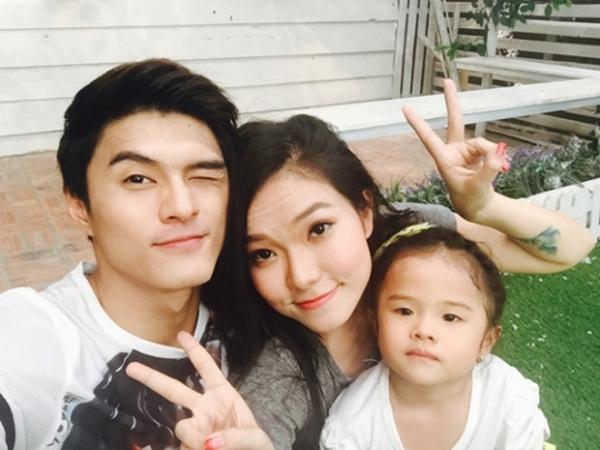 Gia đình Lâm Vinh Hải - Lý Phương Châu thuở mặn nồng.