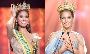 Nhan sắc của 2 Hoa hậu Hòa bình Quốc tế bị tước vương miện