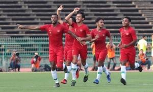 Pha sút phạt của Indonesia khiến U22 Việt Nam phải nhường vé chung kết