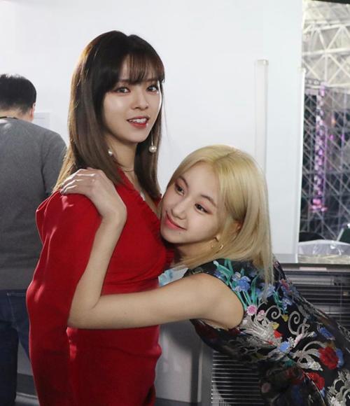 Visual của Jung Yeon và Chae Yeong là không đùa được.