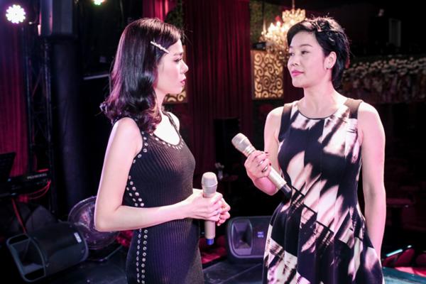 Trong show Giai nhân 2019, Lệ Quyên cho biết cô cùng đàn chị Thu Phương lần đầu hát rock với ca khúc Bang Bang.