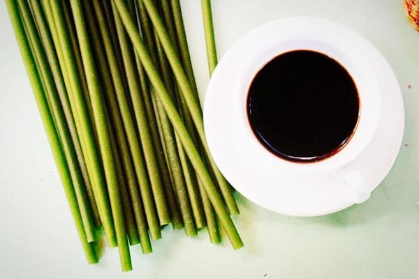 Ống hút ăn liền bằng gạo như Hàn Quốc được sử dụng ở Việt Nam - 1