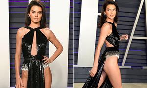 Bí mật sau chiếc váy phô trọn vòng ba không nội y của Kendall Jenner