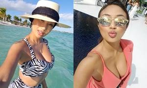 Vẻ nóng bỏng của MC gốc Việt dẫn hậu trường Oscar 2019