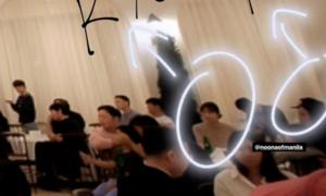 Vừa phủ nhận ly hôn, Song - Song lại lộ ảnh ngồi xa nhau trong bữa tiệc