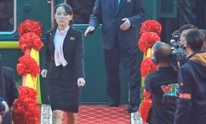 Những khoảnh khắc thể hiện vai trò quan trọng của em gái Kim Jong-un