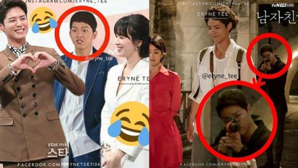Loạt ảnh chế khi phim của Song Hye Kyo lên sóng.