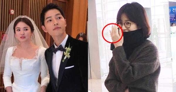 Ở Hàn, việc không đeo nhẫn cưới là bình thường.