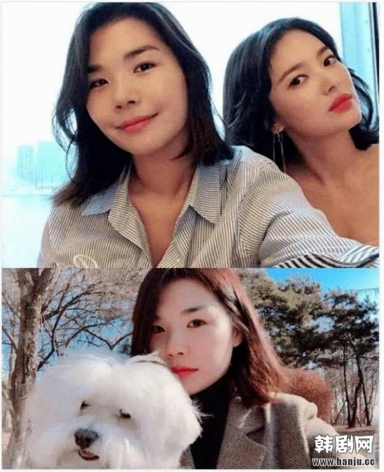 Cô gái bị nghi là người thứ 3 chen vào mối quan hệ của đôi Song - Song.