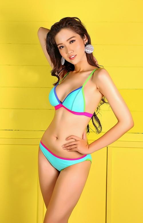 Nhan sắc của đại diện Việt Nam tại Hoa hậu Chuyển giới.