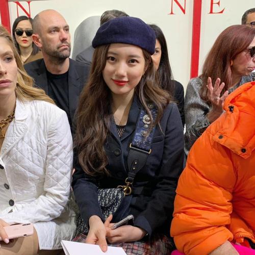 Suzy khoe vẻ đẹp không góc chết tại Paris Fashion Week - 4