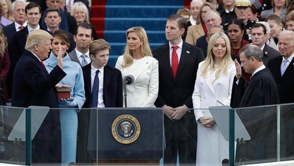 Những người thân trong gia đình Tổng thống Mỹ cũng được đặt mật danh.