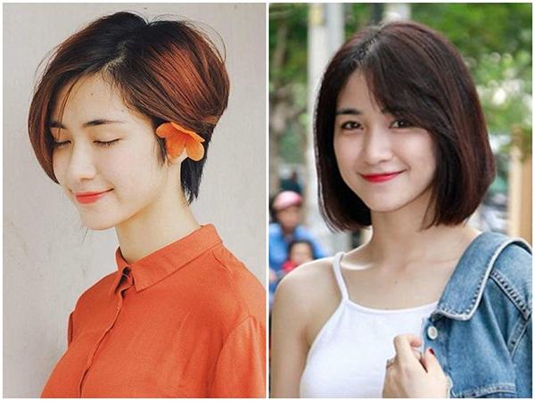 Những năm đầu mới vào nghề, cô nàng khá trung thành với tóc ngắn, để nhiều kiểu khác nhau từ tóc pixie đến đầu bob.