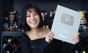 Nhận nút bạc YouTube, Hoàng Yến Chibi mất ngủ cả đêm