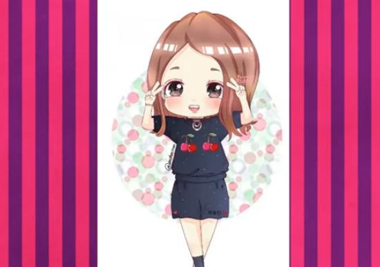 Nhận dạng idol Kpop qua hình vẽ siêu dễ thương (3) - 5