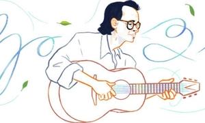Vì sao Google VN chọn Trịnh Công Sơn là nghệ sĩ đầu tiên trên giao diện