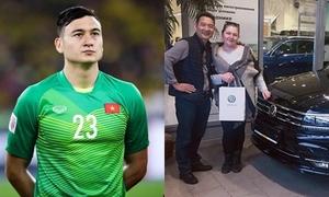 Đặng Văn Lâm mua xế hộp tặng bố sau hợp đồng chuyển nhượng tiền tỷ