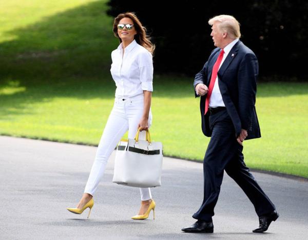 Đệ nhất phu nhân Mỹ, Melania Trump.