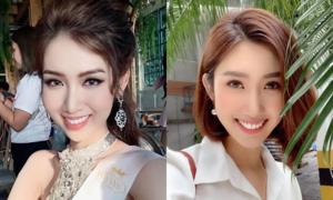 Thúy Ngân - Nhật Hà giống nhau như 'chị em thất lạc'