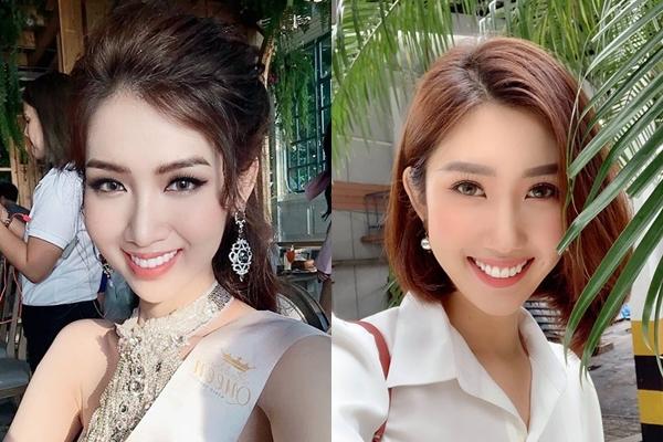 Showbiz Việt có rất nhiều cặp sao giống nhau như chị em thất lạc nhưng không cùng huyết thống. Không chỉ giống nhau về gương mặt, nhiều ngôi sao có những điểm tương đồng cả về dáng vẻ, thần thái, phong cách. Đăng tải hình mới nhất của bản thân tại cuộc thi Miss International Queen (Hoa hậu Chuyển giới Quốc tế 2019), Đỗ Nhật Hà khiến nhiều nhiều khán giả ngỡ ngàng vì nhan sắc giống Hân hoa hậu của bộ phim Gạo nếp gạo tẻ tới khó tin.