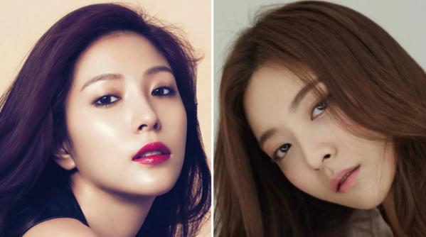 Nhiều fan gật gù công nhận Luna (f(X)) có thần thái gợi nhớ đến đàn chị BoA (trái).