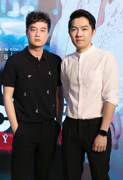 Hai đạo diễn mát tay của showbiz Việt Bảo Nhân (trái) và Nam Cito.