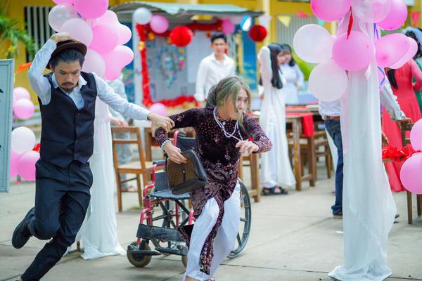 Học Huỳnh Lập & Quang Trung 1001 cách phá đám cưới trong Vu Quy Đại Náo - 1