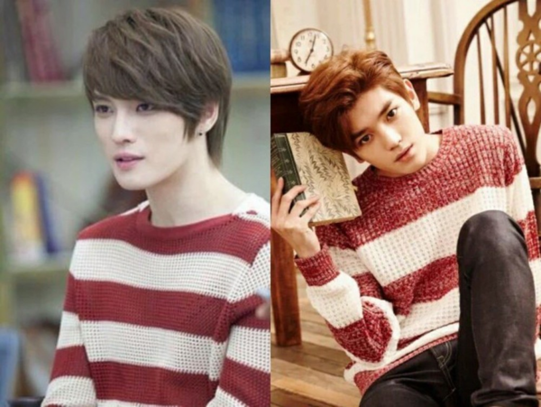 Khoảnh khắc bạn nhận ra câu hỏi ai mặc nó đẹp hơn chẳng hề hữu dụng với trường hợp y như anh em sinh đôi của Jae Joong (cựu thành viên TVXQ) và Tae Yong (NCT 127).