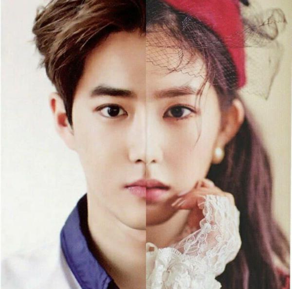 Irene và Tae Yeon nhiều lần khiến fan nhầm lẫn bởi những góc mặt giống nhau kỳ lạ.