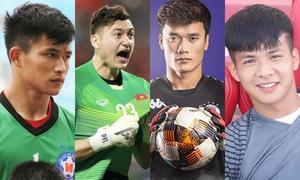 6 thủ môn như mẫu ảnh của làng bóng đá Việt