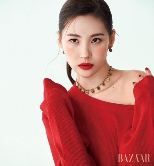 Sao Hàn tô son đỏ: Jennie sang chảnh, Song Hye Kyo đẹp như nữ thần - 5