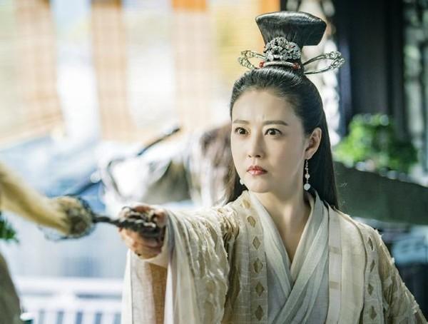 Tạo hình của Châu Hải My trong vai Diệt Tuyệt sư thái.