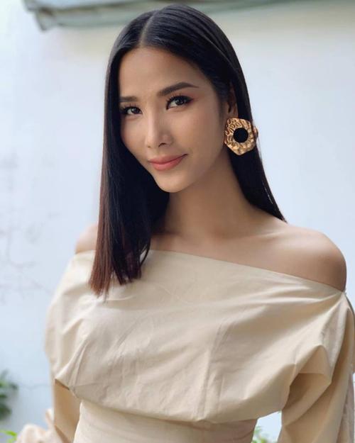 Á hậu Hoàng Thùy ngày càng hoàn thiện nhan sắc trước tin đồn đại diện Việt Nam dự thi Miss Universe 2019.