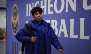 Fan 'làm loạn' trên fanpage Incheon vì Công Phượng không được vào sân