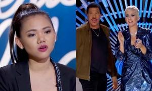 Minh Như khoe giọng 'khủng' khiến giám khảo American Idol bấn loạn