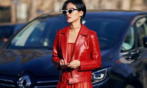 Diện váy mỏng dự Paris Fashion Week, Khánh Linh phủ sóng tạp chí nước ngoài