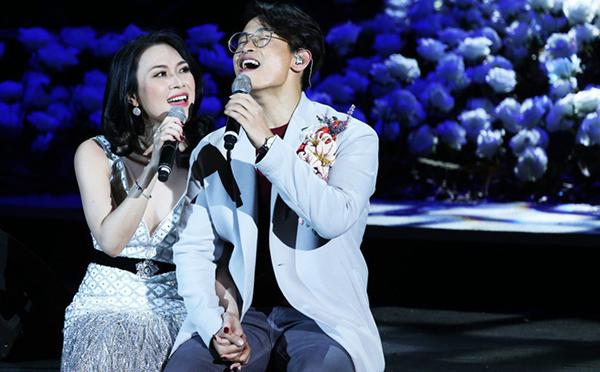Sự xuất hiện của Mỹ Tâm và Hà Anh Tuấn hứa hẹn sẽ mang đến những bản tình ca ngọt ngào.