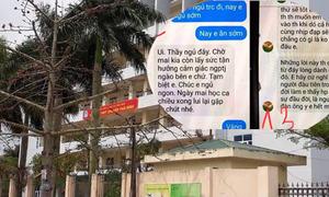 Thầy giáo trường chuyên Thái Bình bị tố gạ tình nữ sinh