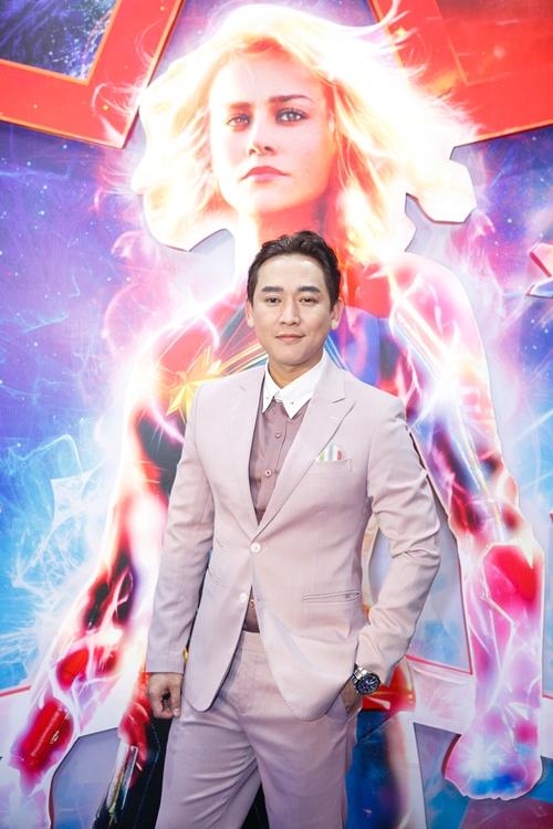Tại TP HCM, dàn sao Việt xúng xính, háo hức để diện kiến Đại Uý Marvel.