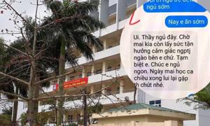 Thầy giáo trường chuyên Thái Bình thừa nhận 'gạ tình' nữ sinh