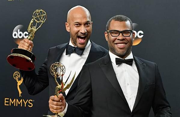 Hai tượng vàng Emmy danh giá đã thuộc về Keegan Michael Key và Jordan Peele