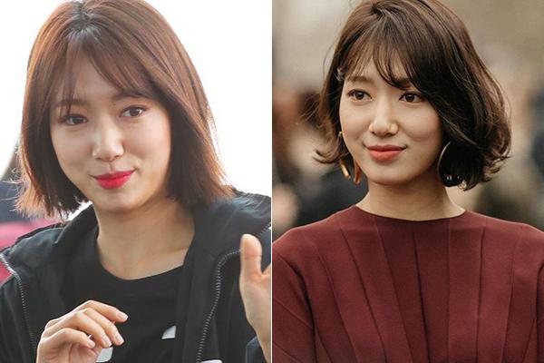 Park Shin Hye chứng minh sự thật cô nàng cũng phải đối mặt với những vấn đề tóc khô xơ như bao người. Nhờ có bàn tay của các stylist, diện mạo của cô trở nên đầy thu hút.
