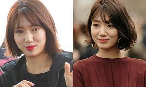 Sự thật mái tóc của Park Shin Hye khi không có stylist
