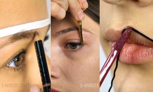Mẹo make-up từ những món đồ khó tin cho các nàng hậu đậu