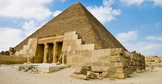 Khám phá bí mật Kim tự tháp Ai Cập