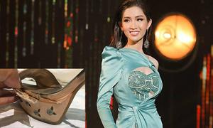Nhật Hà mặc váy cũ, mang giày bung đế đi thi Hoa hậu chuyển giới vì kinh phí eo hẹp