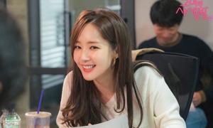 Park Min Young xinh đẹp 'trên mức cần thiết' trong buổi đọc kịch bản phim mới
