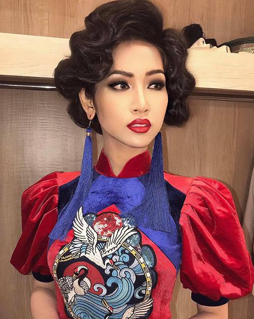 Nhật Hà mặc váy cũ, mang giày bung đế đi thi Hoa hậu chuyển giới vì kinh phí eo hẹp - 5