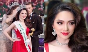 Hương Giang trong một năm đương nhiệm Hoa hậu Chuyển giới Quốc tế